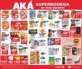 Folleto actual AKÁ Superbodega - 16.1.2021 - 17.1.2021.