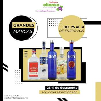 Folleto actual Bodegas Alianza - 25.1.2021 - 31.1.2021.