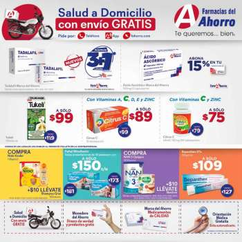 Folleto actual Farmacias del Ahorro - 1.2.2021 - 28.2.2021.