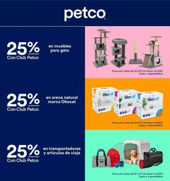 Folleto actual Petco - 5.2.2021 - 7.2.2021.