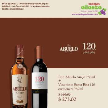 Folleto actual Bodegas Alianza - 17.2.2021 - 22.2.2021.