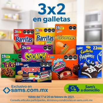 Folleto actual Sam's Club - 17.2.2021 - 20.2.2021.