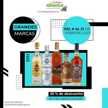 Folleto actual Bodegas Alianza - 8.2.2021 - 21.2.2021.