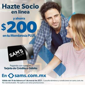 Folleto actual Sam's Club - 19.2.2021 - 1.3.2021.