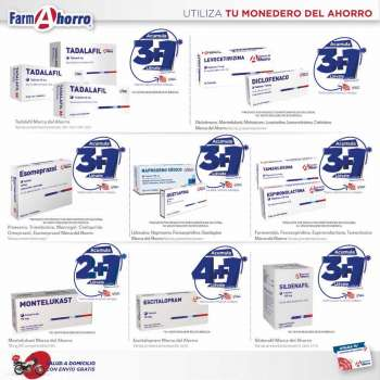 Folleto actual Farmacias del Ahorro - 1.3.2021 - 31.3.2021.