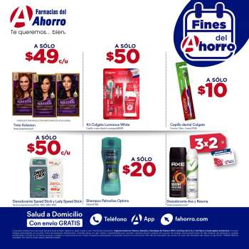 Folleto actual Farmacias del Ahorro - 5.3.2021 - 7.3.2021.