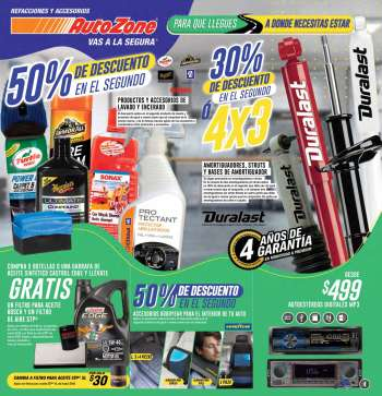 Folleto actual AutoZone - 7.3.2021 - 10.4.2021.