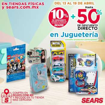 Folleto actual Sears - 13.4.2021 - 19.4.2021.