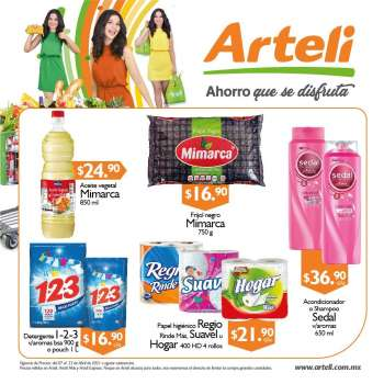 Folleto actual Arteli - 7.4.2021 - 23.4.2021.