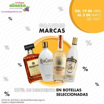 Folleto actual Bodegas Alianza - 19.4.2021 - 2.5.2021.