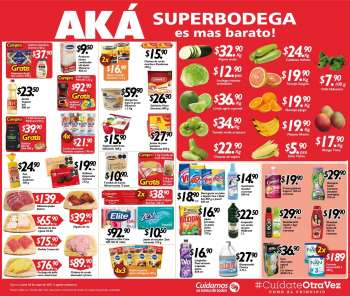 Folleto actual AKÁ Superbodega - 3.5.2021 - 3.5.2021.
