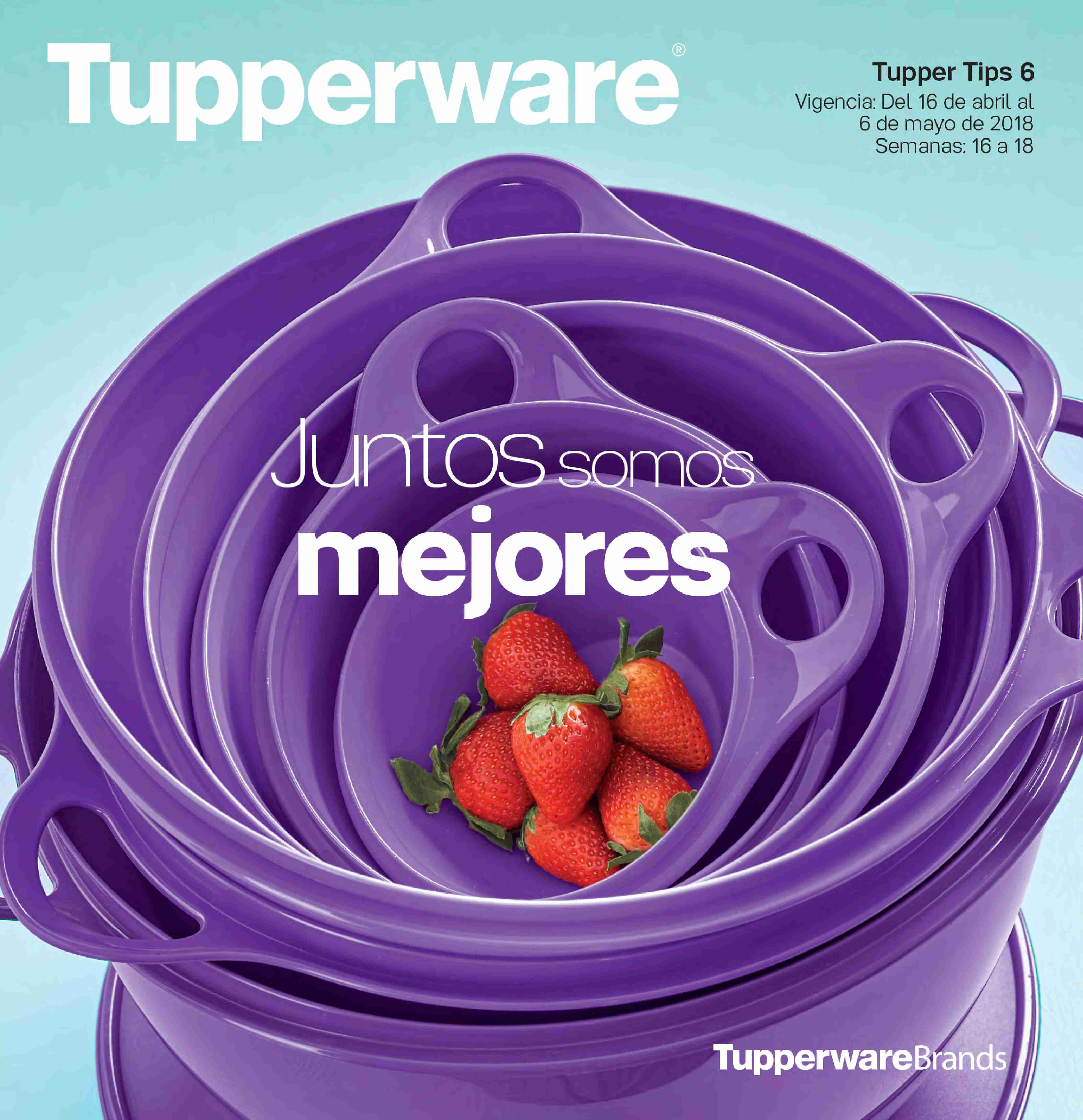 Folleto actual Tupperware