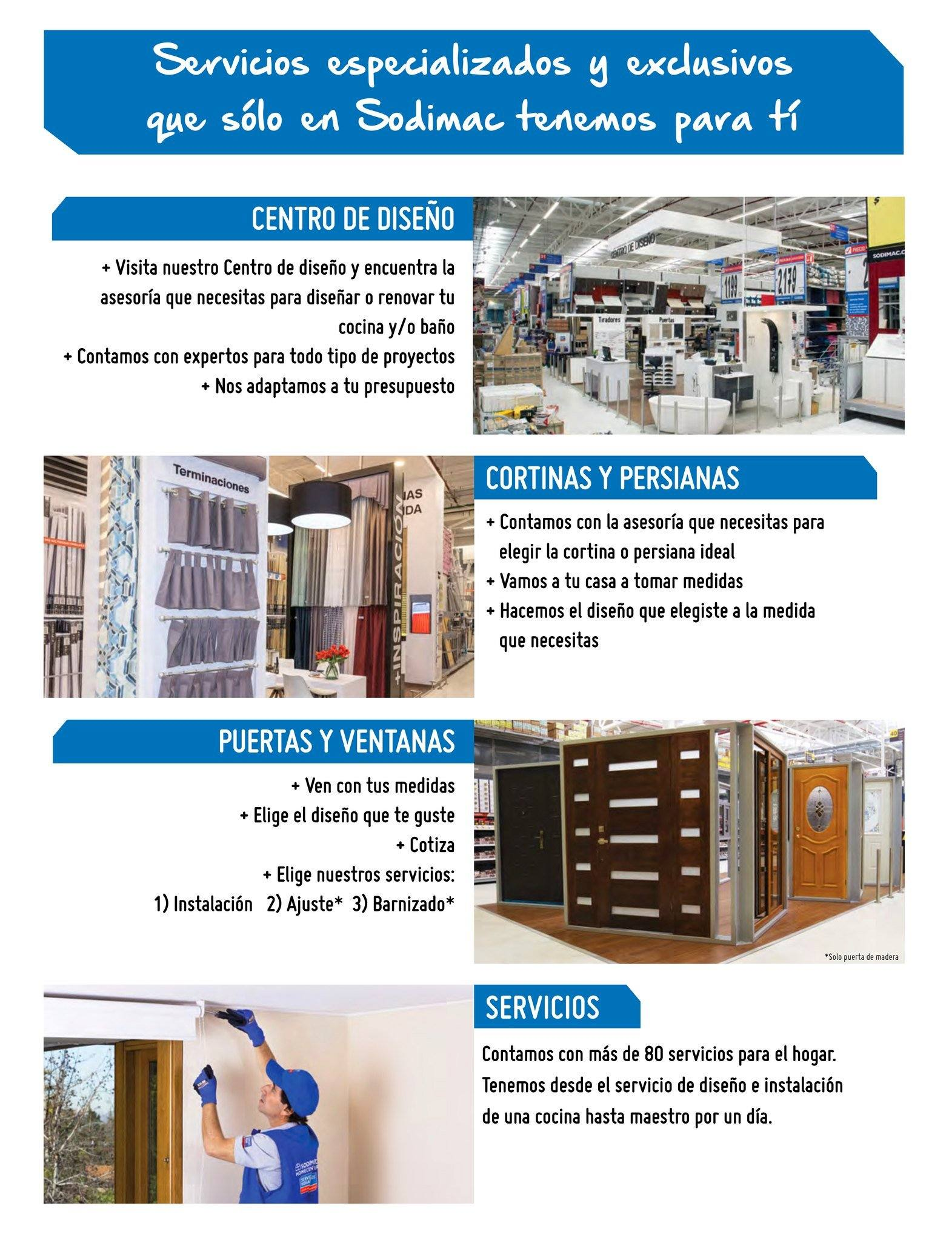 4106fc61e Folleto actual Sodimac - 1.3.2019 - 31.3.2019 - Ventas - cocina,
