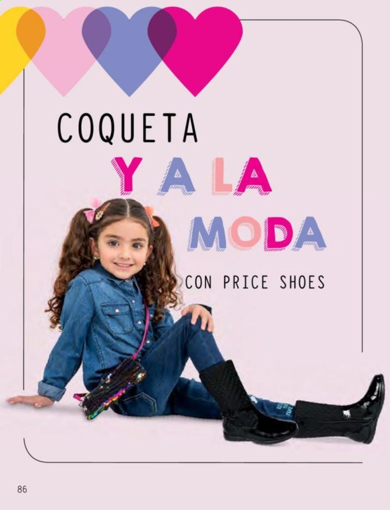 Oferta vigente Price Shoes. Página 86.