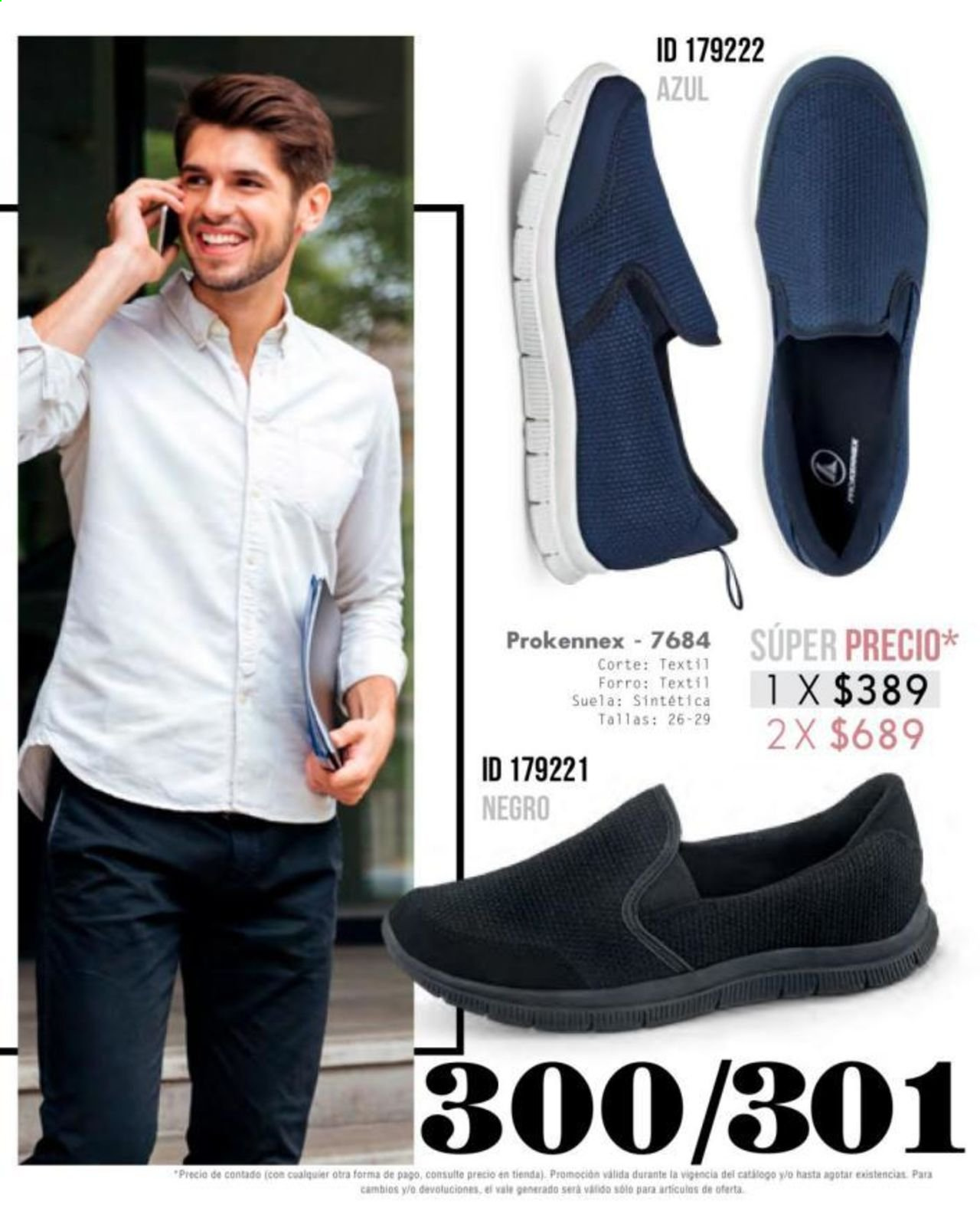 Oferta vigente Price Shoes. Página 299.