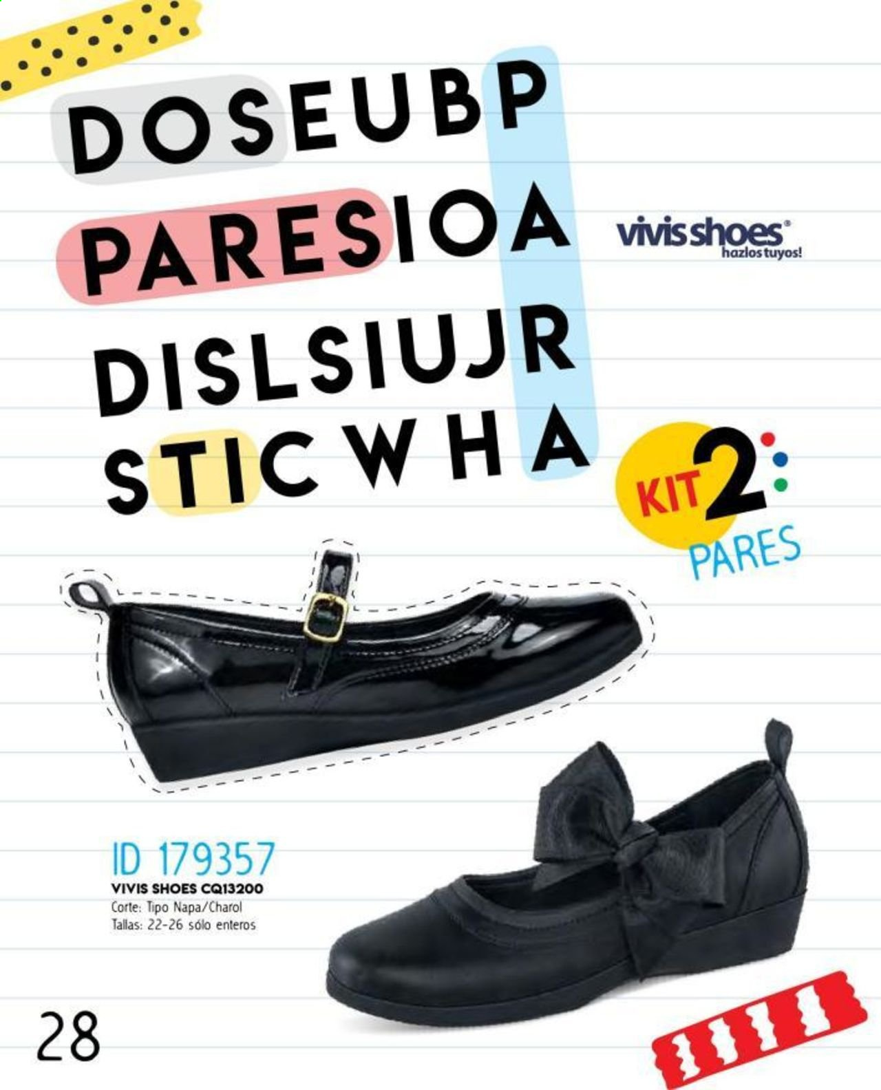 Oferta vigente Price Shoes. Página 28.