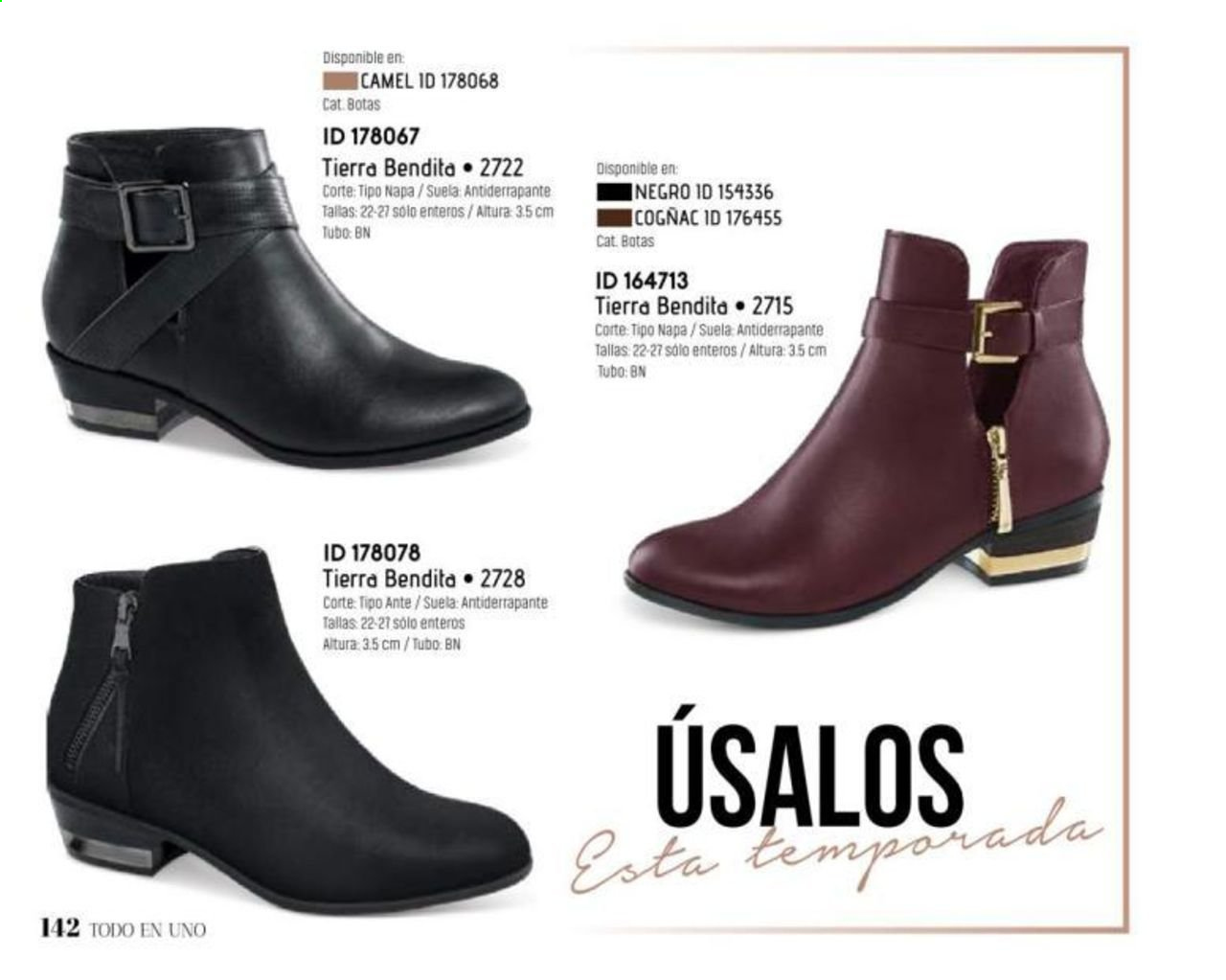 Oferta vigente Price Shoes. Página 140.