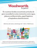 Folleto actual Woolworth.