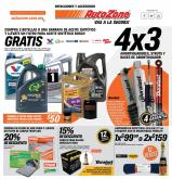Folleto actual AutoZone - 9.8.2020 - 29.8.2020.