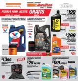 Folleto actual AutoZone - 27.9.2020 - 17.10.2020.