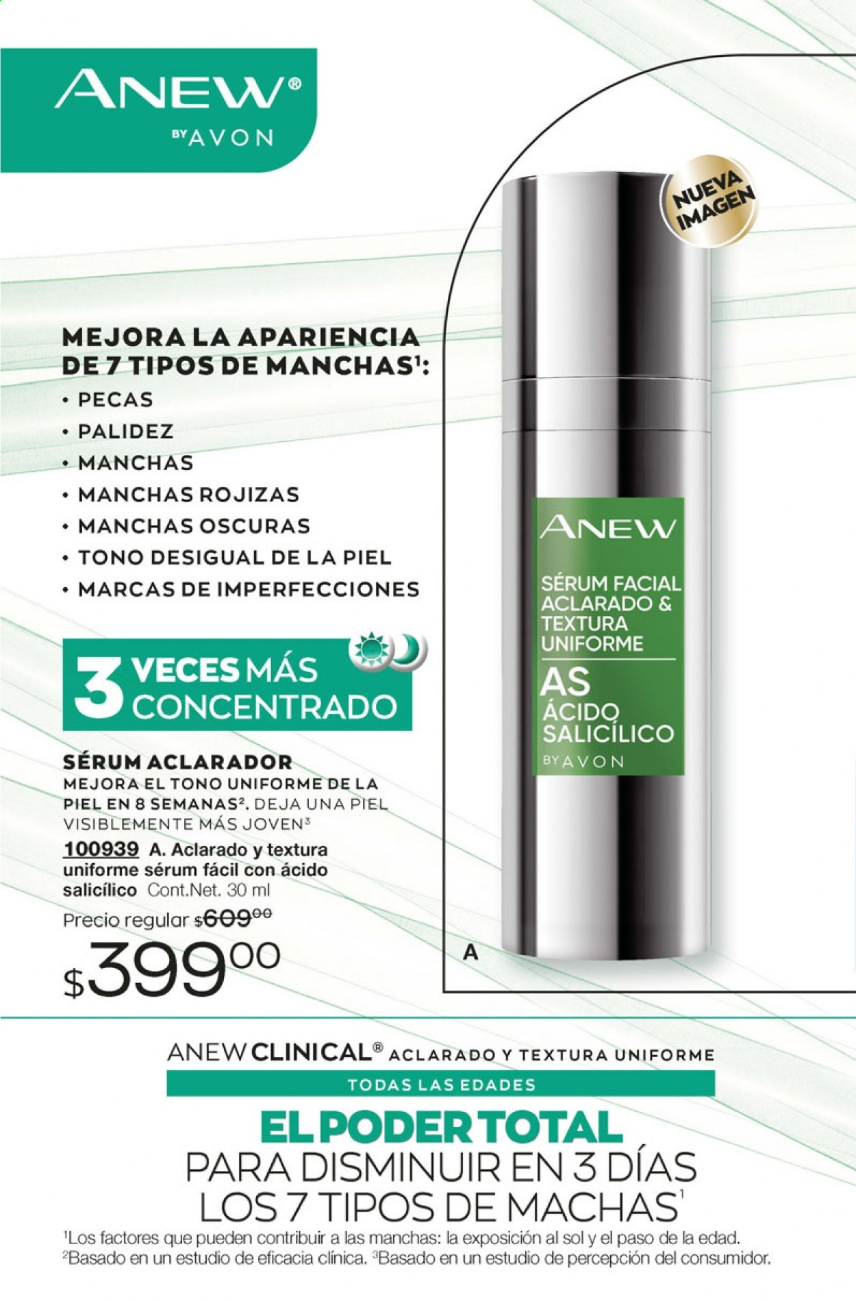 Folleto actual Avon - 5.10.2020 - 5.11.2020 - Ventas - anew, clinical, sérum, clínica. Página 6.
