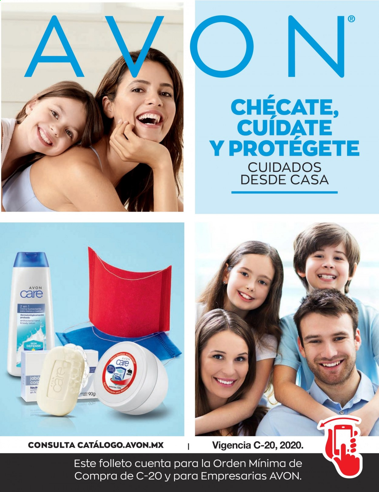 Folleto actual Avon - 7.11.2020 - 9.12.2020 - Ventas - body lotion, crema humectante. Página 1.