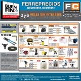 Folleto actual Ferreteria Calzada - 9.11.2020 - 31.12.2020.