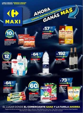 a pesar de Aparador Ingresos  Carrefour Maxi - ofertas, catálogos y folletos   Ahorra Ya