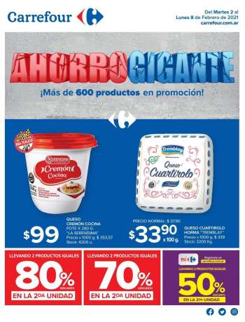 Folleto actual Carrefour Hipermercados - 2.2.2021 - 8.2.2021.