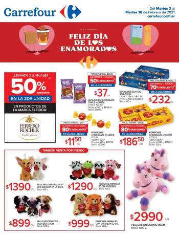 Folleto actual Carrefour Hipermercados - 2.2.2021 - 16.2.2021.