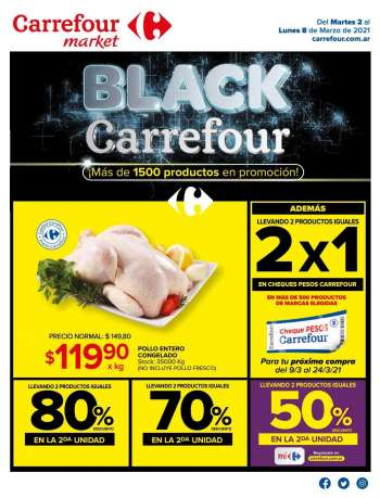 Folleto actual Carrefour Market - 2.3.2021 - 8.3.2021.