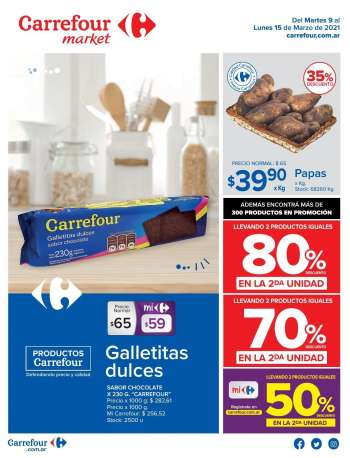 Folleto actual Carrefour Market - 9.3.2021 - 15.3.2021.