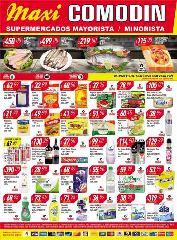 Folleto actual Supermercados Comodin - 29.3.2021 - 4.4.2021.