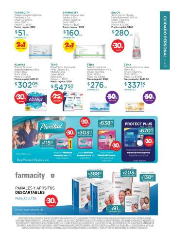 Folleto actual Farmacity - 1.4.2021 - 20.4.2021.