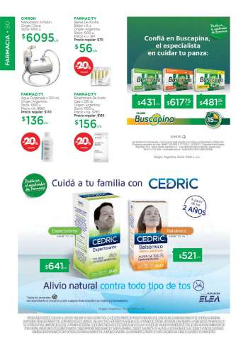 Folleto actual Farmacity - 3.5.2021 - 20.5.2021.