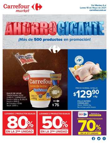 Folleto actual Carrefour Market - 4.5.2021 - 10.5.2021.