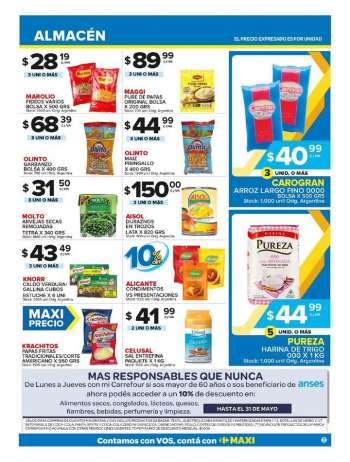 Folleto actual Carrefour Maxi - 10.5.2021 - 16.5.2021.