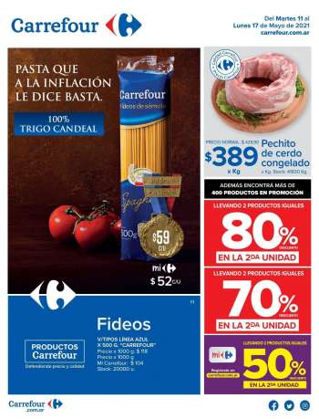Folleto actual Carrefour Hipermercados - 11.5.2021 - 17.5.2021.