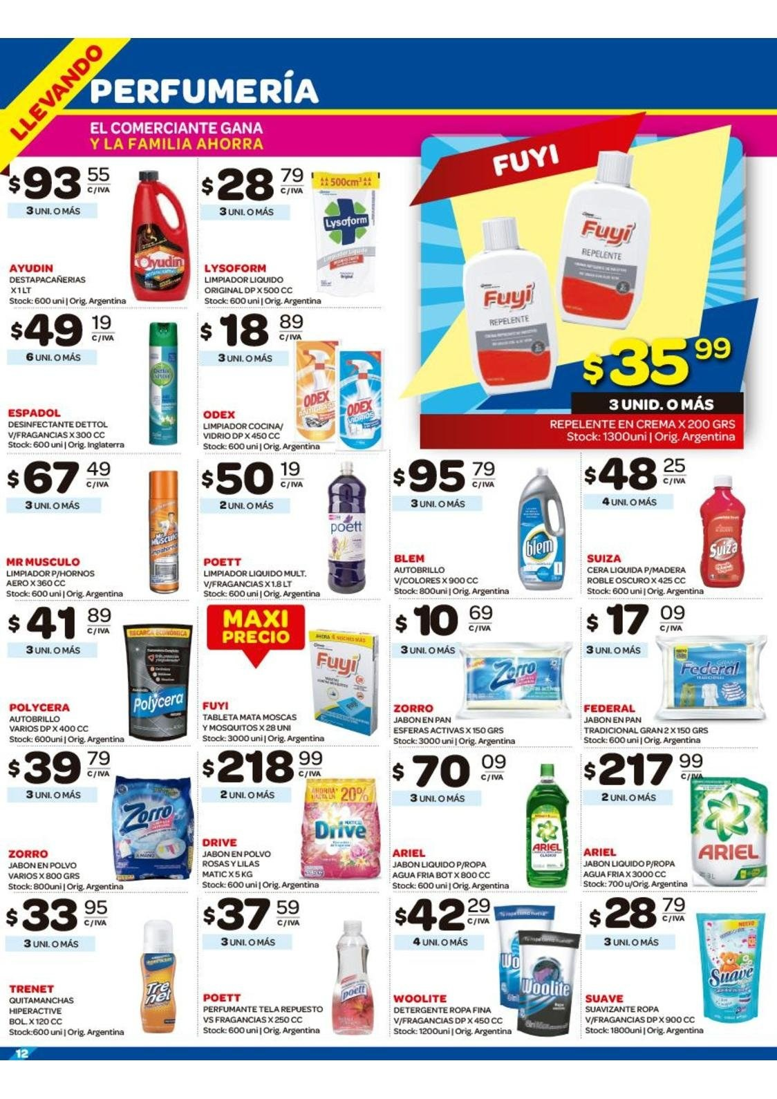 Folleto actual Carrefour - 31.12.2018 - 6.1.2019 - Ventas - detergente cc99d3ada37b