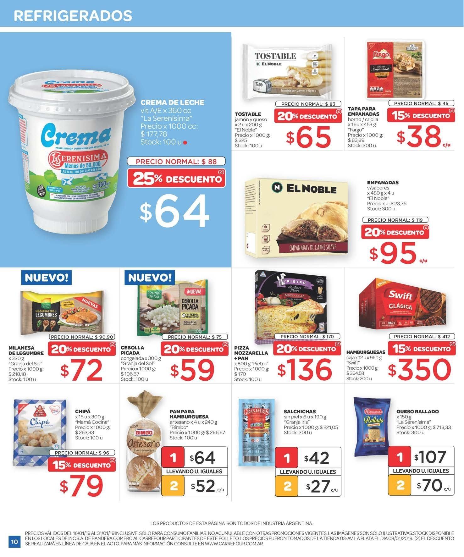 Folleto actual Carrefour - 16.1.2019 - 23.1.2019 - Ventas - queso ddaaa0ea713b