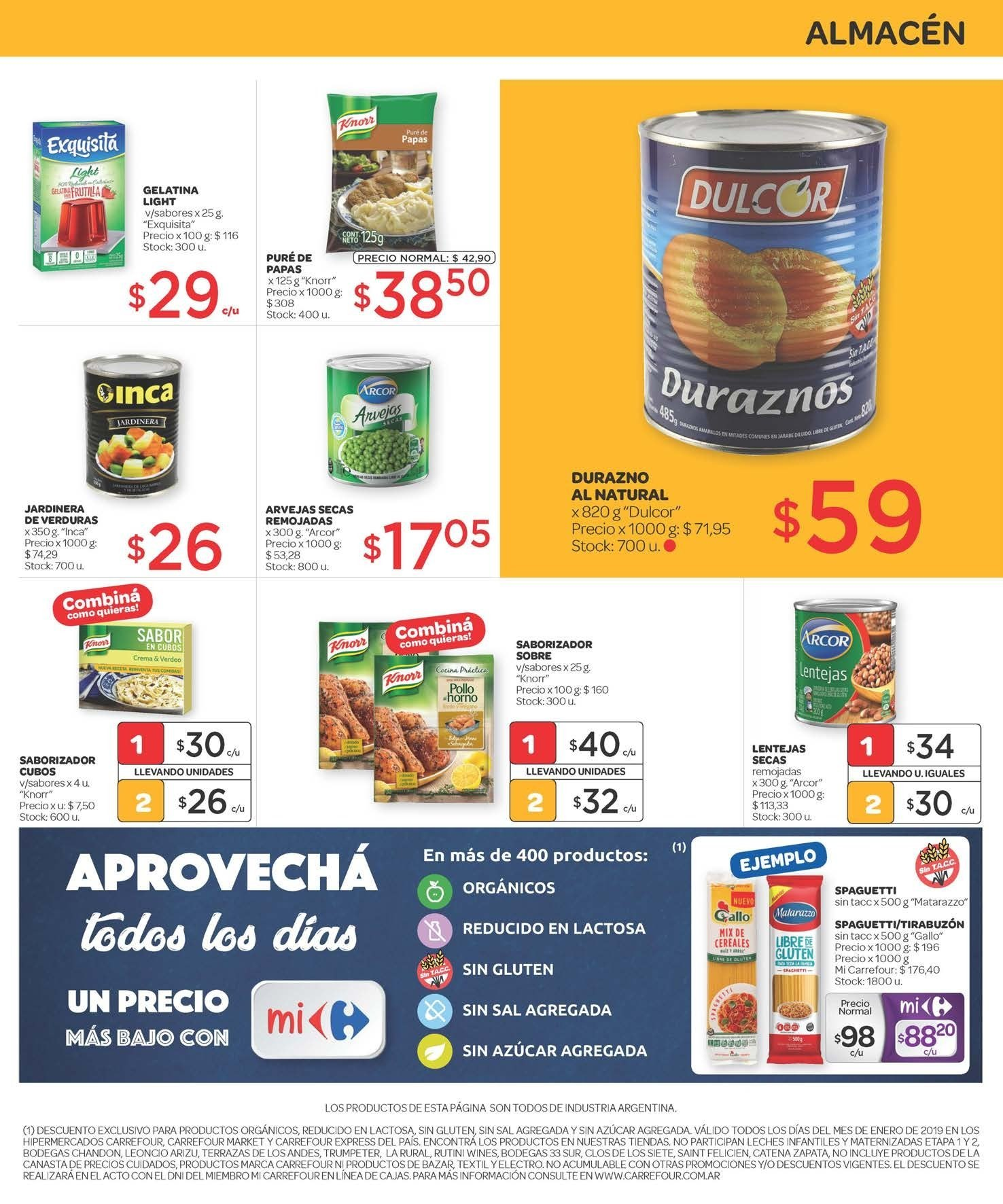 Folleto actual Carrefour - 16.1.2019 - 23.1.2019 - Ventas - lenteja 82b253aaefa8