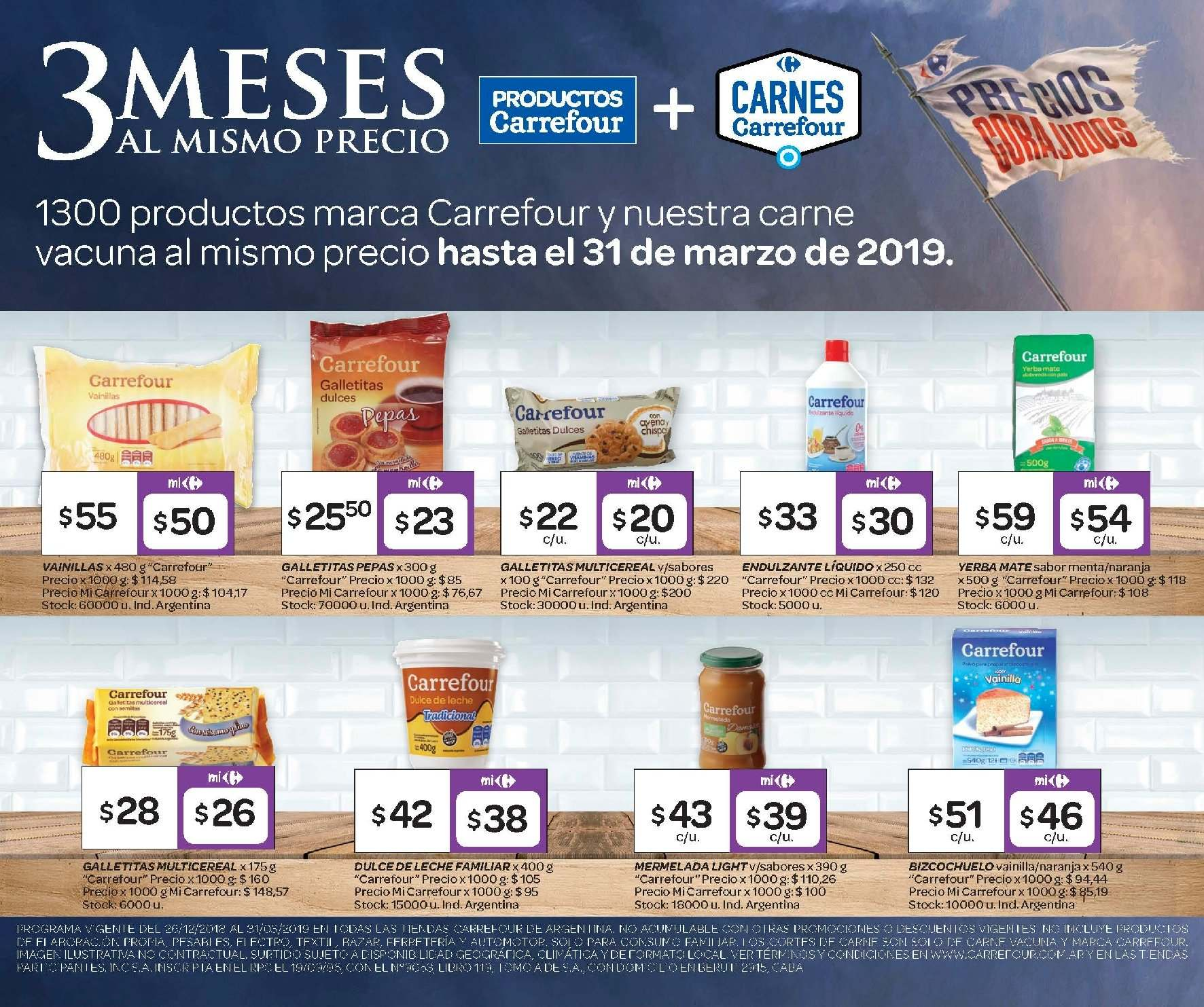 Folleto actual Carrefour - 7.2.2019 - 11.2.2019 - Ventas - leche 34140633bec7