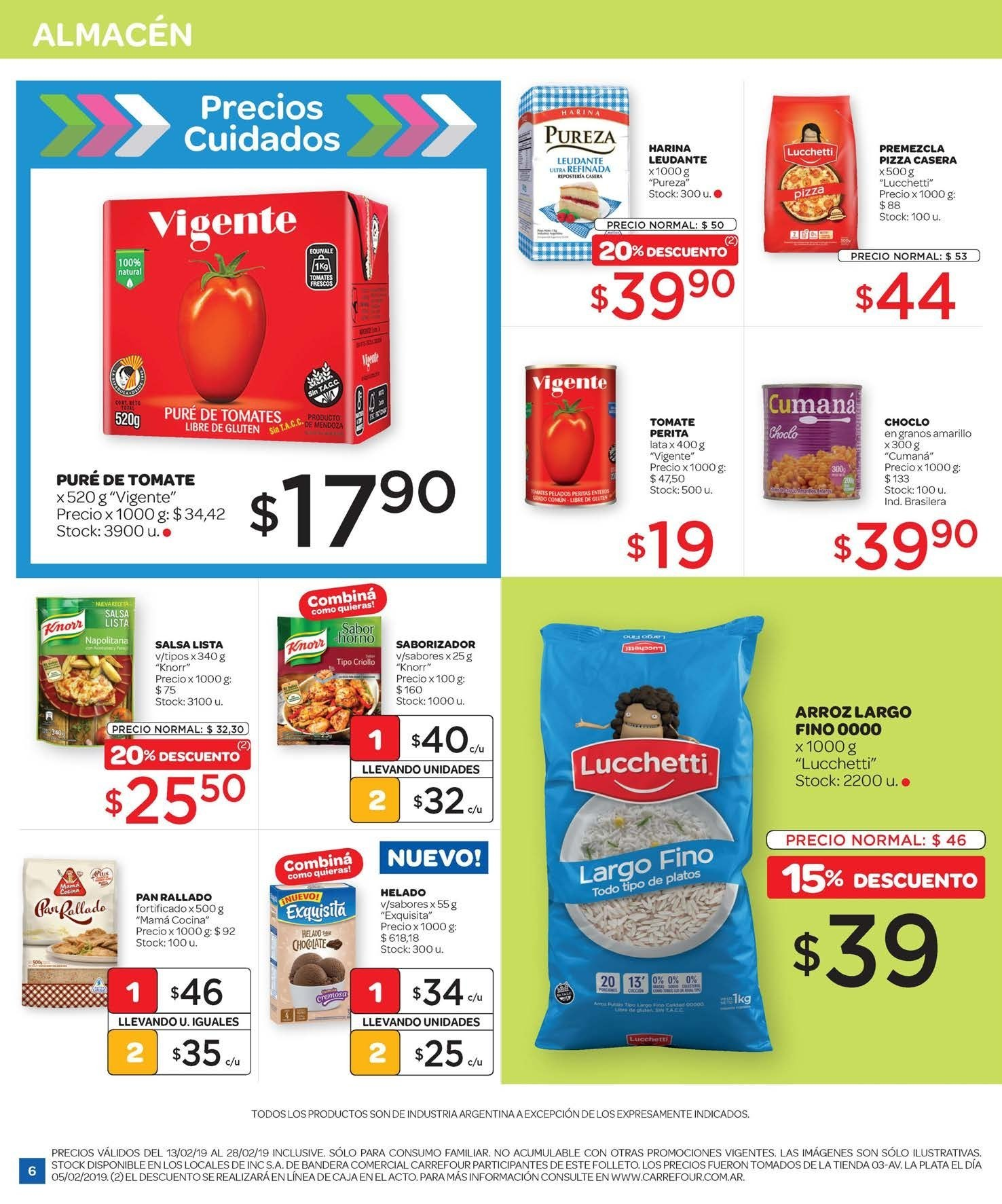Folleto actual Carrefour - 13.2.2019 - 28.2.2019 - Ventas - tomate a7389cd97e33