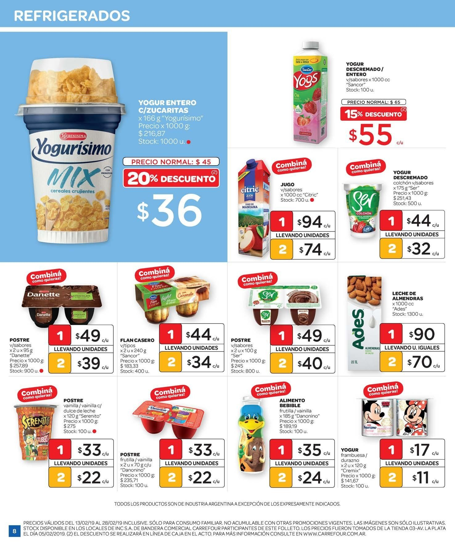 Folleto actual Carrefour - 13.2.2019 - 28.2.2019 - Ventas - yogur 719e831790d5