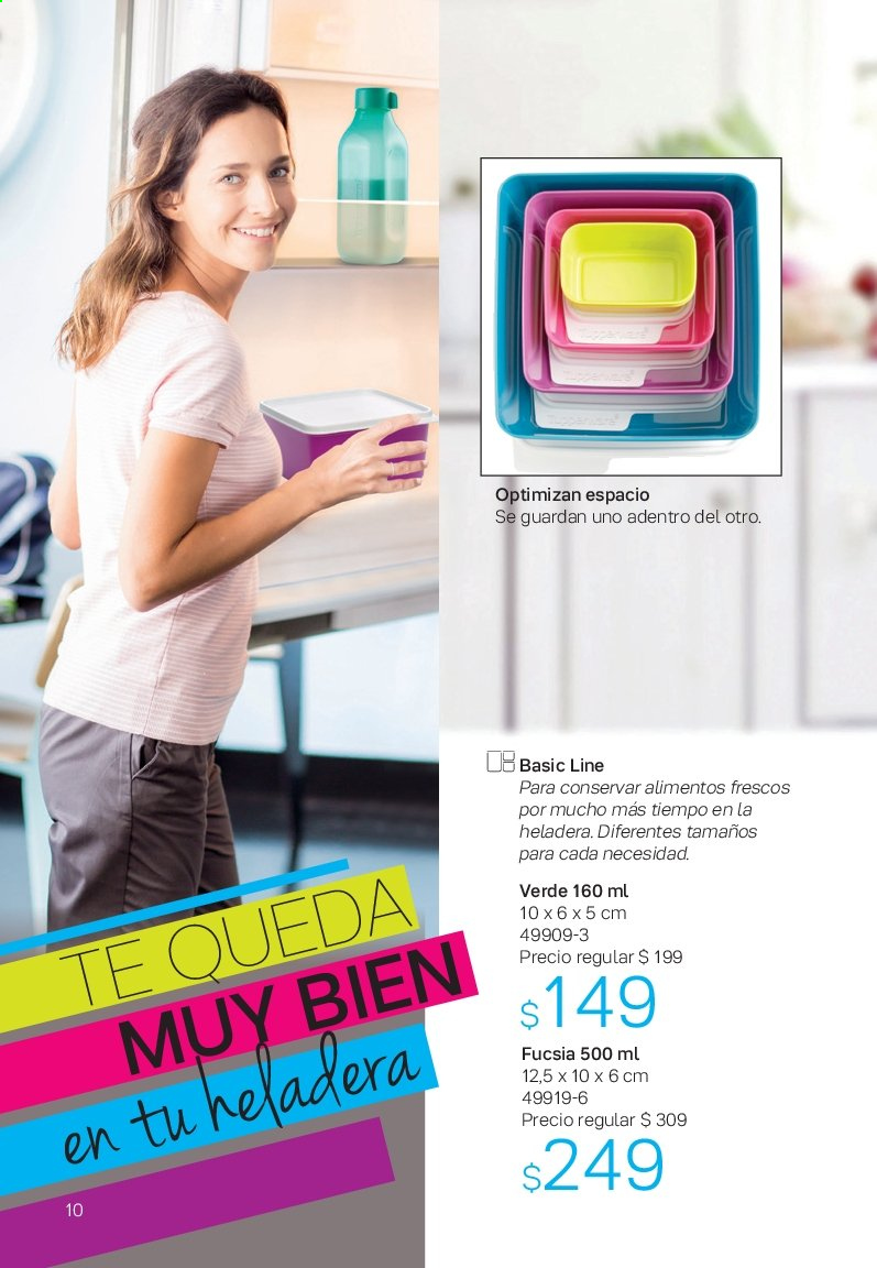 Folleto actual Tupperware - Ventas - frigorífico, heladera. Página 10.