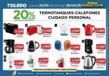 Folleto actual Supermercados Toledo - 23.4.2020 - 26.4.2020.