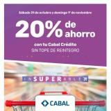 Folleto actual Supermercados Arco Iris - 31.10.2020 - 1.11.2020.