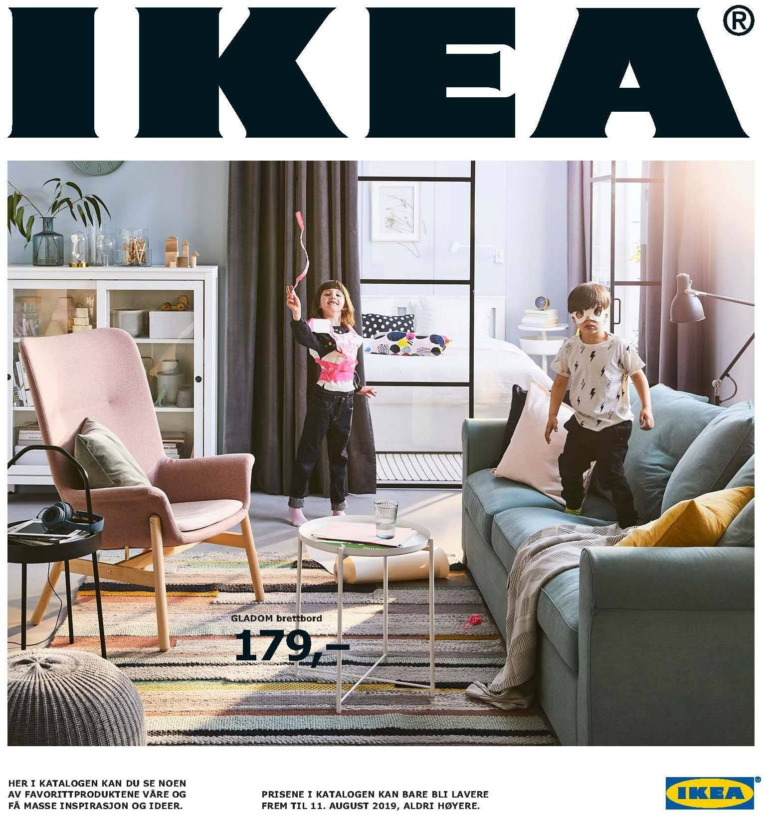 Kundeavis IKEA - 21.08.2018 - 11.08.2019. Side 1.