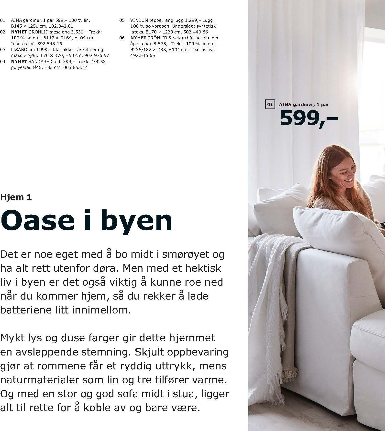 Kundeavis IKEA - 21.08.2018 - 11.08.2019. Side 8.