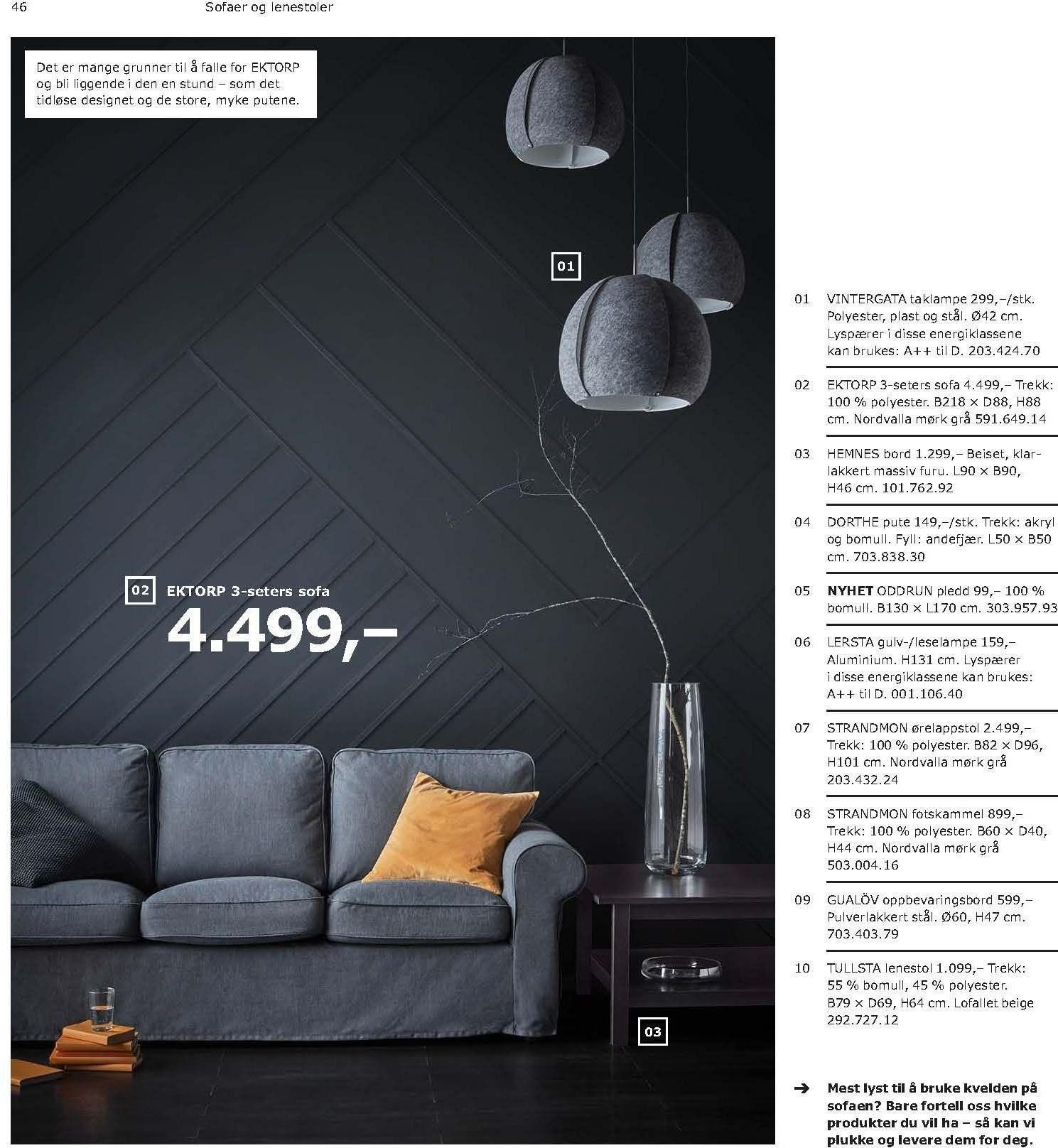 Kundeavis IKEA - 21.08.2018 - 11.08.2019. Side 46.
